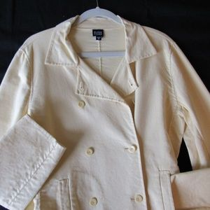 Eileen Fisher Jacket Cardigan Sunny Yellow Size M